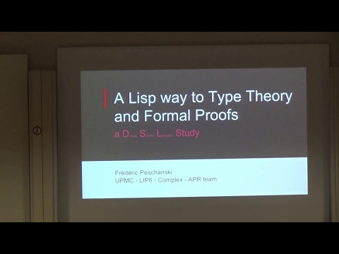 ELS - A Lisp Way to Type Theory and Formal Proofs