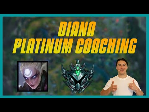 Why You Aren't Climbing - Mid Lane Coaching - Ep.5 Platinum Diana