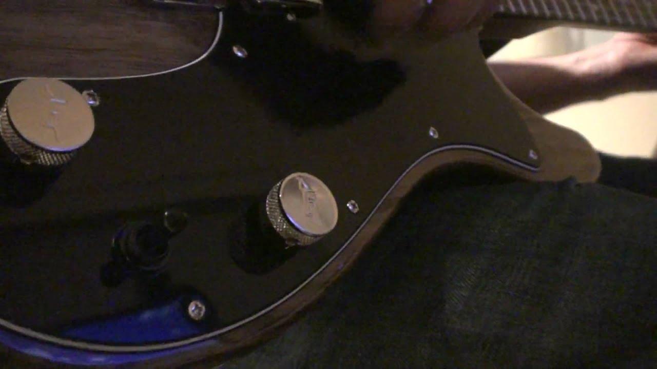 SplitRock T42 Custom guitar pickup switching demo YouTube