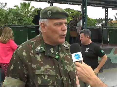 General Comandante Militar do Sudeste em Visita ao Tiro de Guerra Local