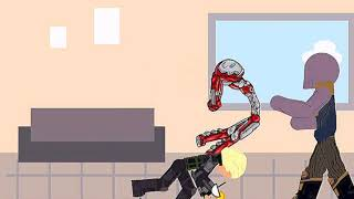 Железный человек против Таноса (анимация)/РИСУЕМ МУЛЬТФИЛЬМЫ 2