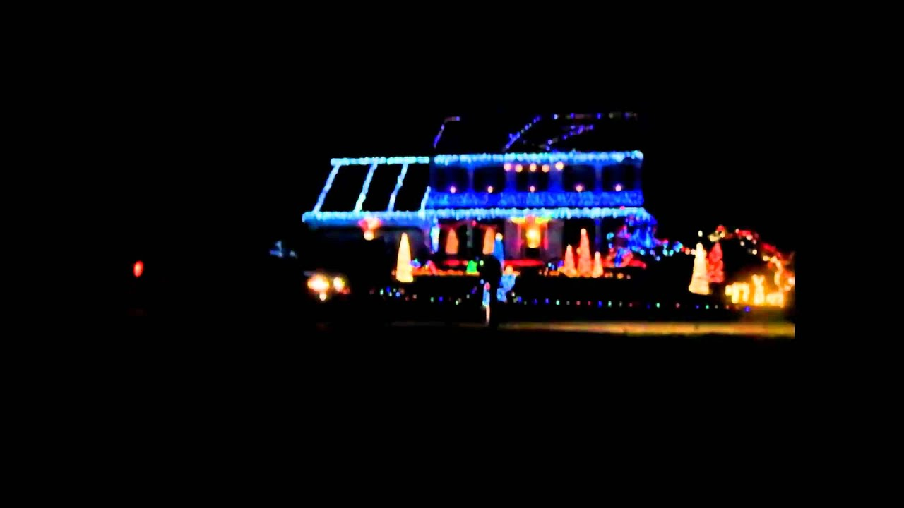 Christmas Lights Happy Birthday Jesus - Alabama - YouTube