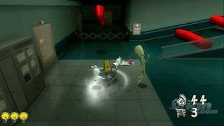Rabbids Go Home Nintendo Wii Gameplay - Gameplay Footage