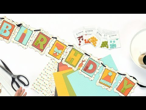 How To Create A Birthday Banner | Foundations Decor