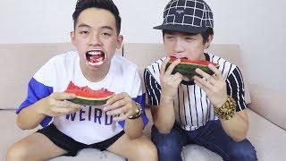 Màn ăn dưa hấu dơ nhất quả đất của Phở Đặc Biệt | funny with how to eat watermelon