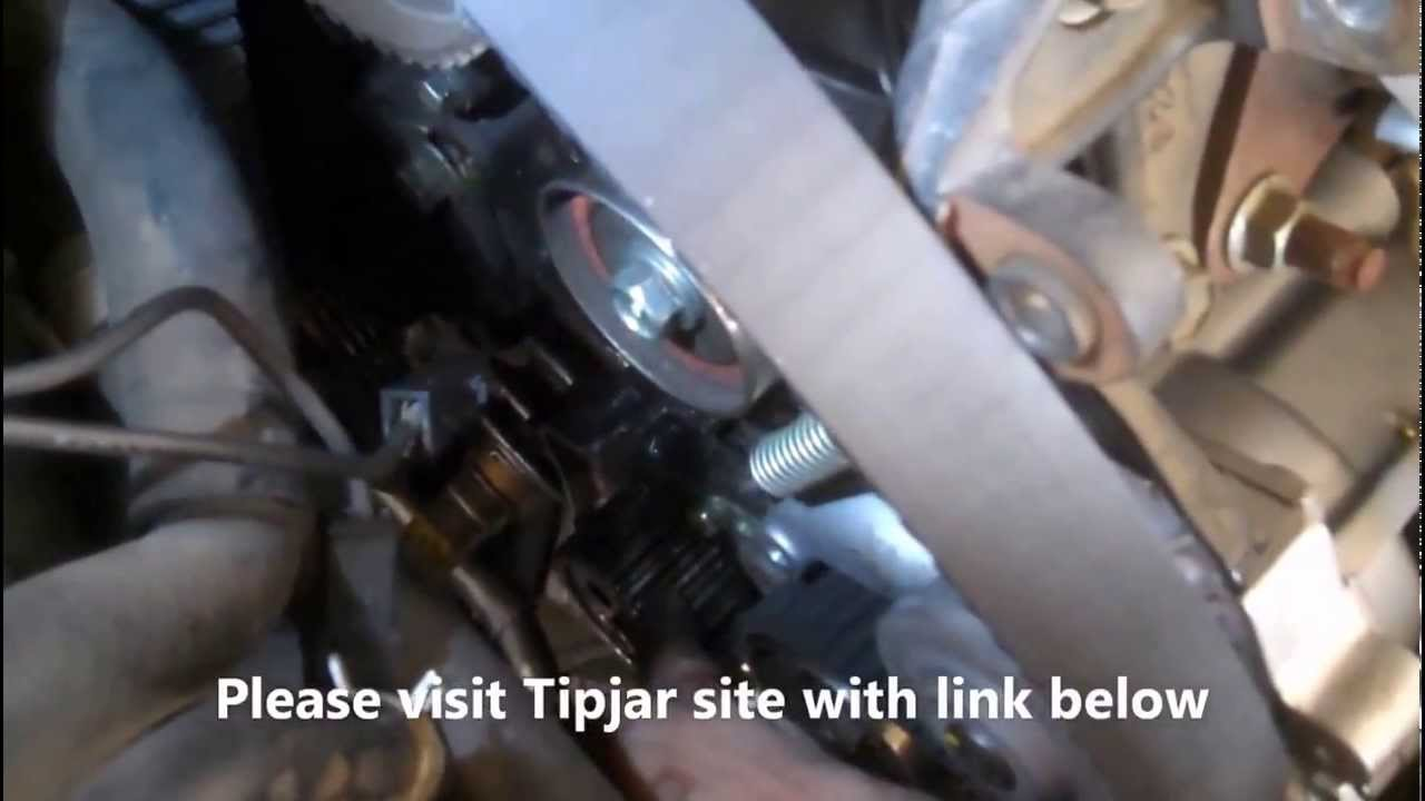 small resolution of timing belt replacement toyota camry 1992 2001 2 2l 4 cylinder part 2 install remove replace youtube