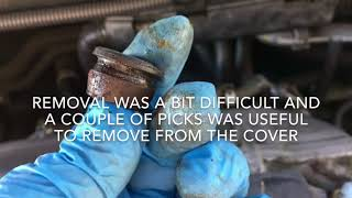 2004 Honda Pilot PCV valve removal and replacement