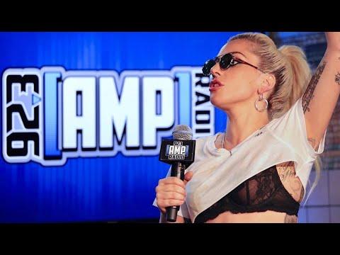 Lady Gaga on 92.3 AMP Radio