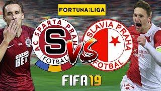 FIFA 19 CZ | Sparta Praha - Slavia Praha | Derby pražských
