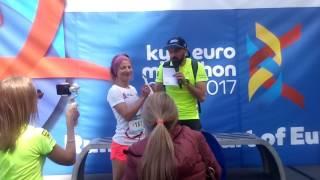 Киев евро марафон 2017 Ирина Згурская (часть 2)Яготин