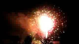 2008 Fireworks @ EE Robinson Park in Sugar Hill Georgia