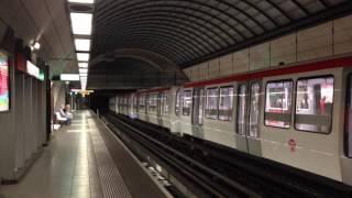 Lyon Metro Ligne D Phase de Test en Um2 de 72 Mètres de Long