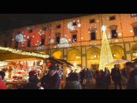 Calendario Mercatini Antiquariato Puglia.Mercatini Di Natale Ad Arezzo 2019 Villaggio Tirolese