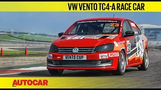 Volkswagen Vento TC4-A Race Car | First Drive Review | Autocar India