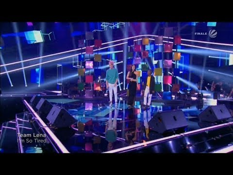 Dio Thapelo Lena ||  Lauv & Troye Sivan - I'm So Tired || The Voice Kids 2019 (Germany)