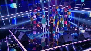 Dio Thapelo Lena Lauv &amp Troye Sivan - I&#39m So Tired The Voice Kids 2019 (Germany)