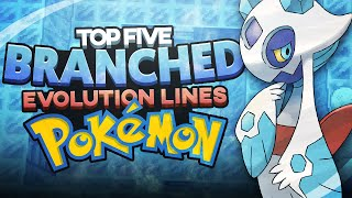 Top 5 Branched Evolution Lines in Pokémon w/ Supra!