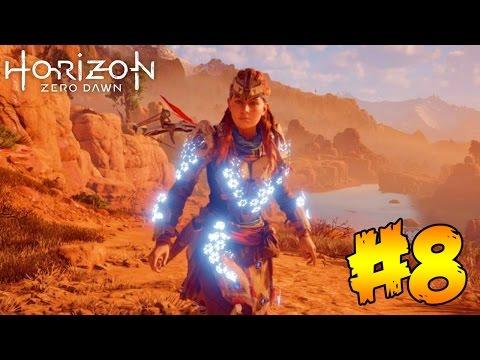 """Horizon Zero Dawn"" Part 8 - SHIELD WEAVER POWER ARMOR!! (Horizon Zero Dawn Gameplay Walkthrough)"