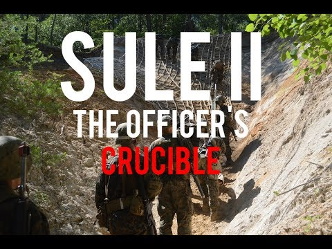 Advice for SULE II (The Marine Officer's Crucible)
