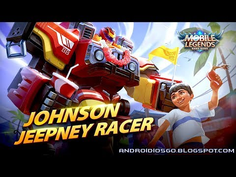 Mobile Legends: New Skin - Johnson Jeepney Racer Gameplay Andriod/iOS