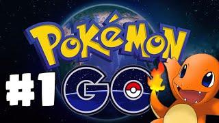 POKEMON GO Adventures #1   My First Pokémon !! CHARMANDER  - Stamford, CT (GoPro HERO )