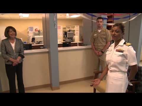 Grand Opening of Naval Branch Health Clinic (NBHC) Eastlake