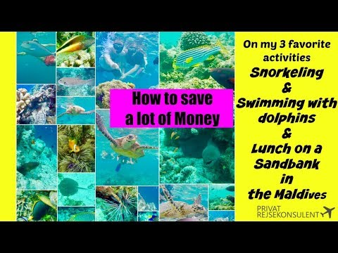 How to save money on activities  in the Maldives