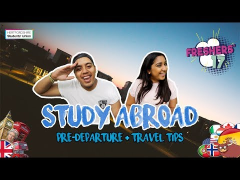 Freshers Survival Guide 17 - STUDY ABROAD | Hertfordshire Students' Union