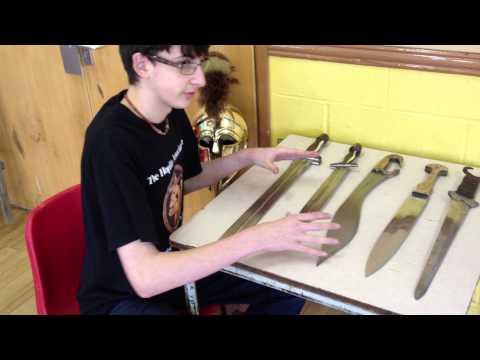 Ancient Greek swords
