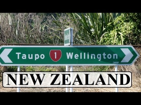 New Zealand-Taupo to Wellington (State Highway 1/) Part 5