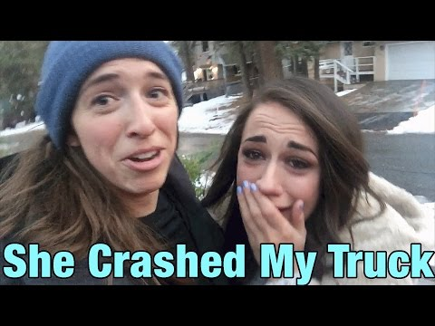 Colleen Crashed My Truck! Then Cried :(