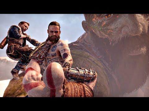 God of War 4 - Baldur Final Boss & ENDING (God of War 2018) PS4 PRO