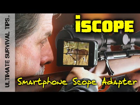 iscope smart phone scope mount shot show 2015 cool hunting