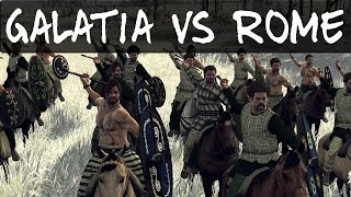 Total War Rome 2 Online Battle 105 Galatia vs Rome