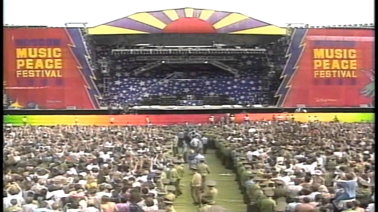 Resultado de imagen de Moscow Music Peace Festival 1989