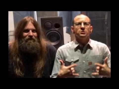 Linkin Park's Chester and Lamb Of God's Mark Morton collaborating in studio..!
