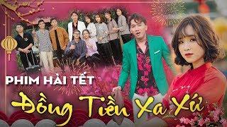 Phim hài tết | Đồng Tiền Xa Xứ - Chung Tũnn, Khánh Dandy, Tùng Lú, Uyên Dâuu – Nhạc chế HuHi TV