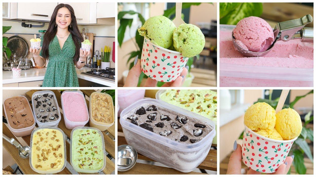 Download مثلجات منزلية ب3 مكونات فقط وب6 نكهات مختلفة🍨بطريقة سهلة أروع من المحلات😋🍦Homemade Ice Cream