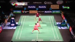 Badminton 2015 | Lee Yong Dae  Yoo Yeon Seong vs Lu Kai  Liu Cheng