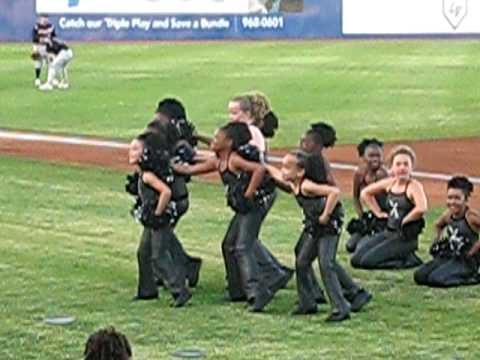 Dance Xpress at the Las Vegas 51's Game