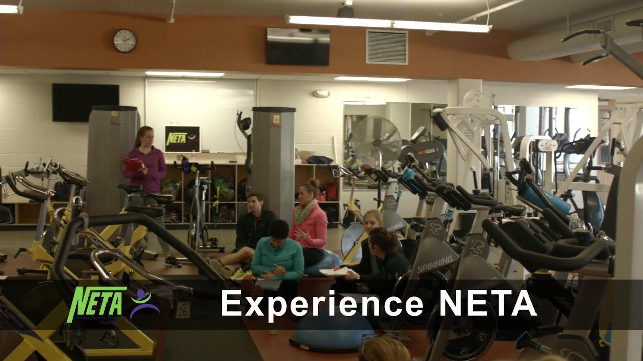 Experience Neta Providing Fitness Certifications Continuing