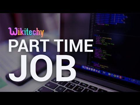 Part Time Job In Wikitechy.com