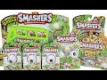 Zuru Smashers Series 2 Blind Boxes, Collectors Tin And Sludge Bus Unboxing Toy Review