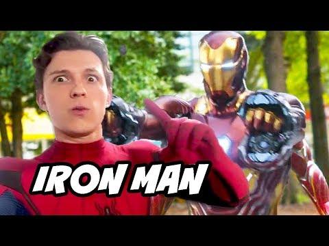 Spider-Man Far From Home Avengers Scene Easter Egg Explained