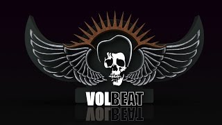 Volbeat - The Gates Of Babylon Backing Track (drums and bass) with tabs