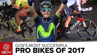 GCN's Most Successful Pro Bikes of 2017