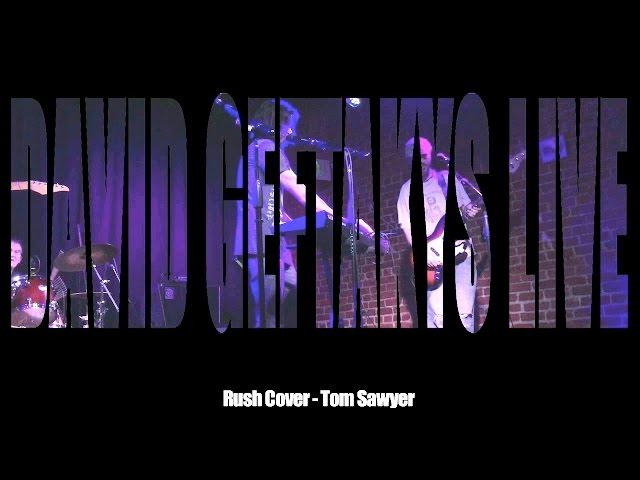 David Geftakys - Tom Sawyer (Rush Cover) live in Hollywood