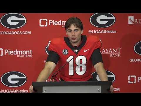 JT Daniels Postgame Presser - Georgia vs. South Carolina - September 18, 2021