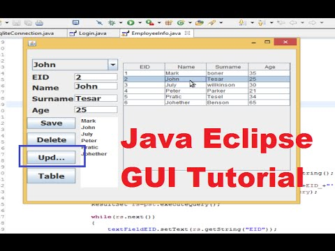 Java eclipse gui tutorial 1 # creating first gui project in.