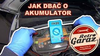 Zadbaj o swój akumulator. Czyli jak sprawdzić jego stan i kiedy go ładować. Retro Garaż #2